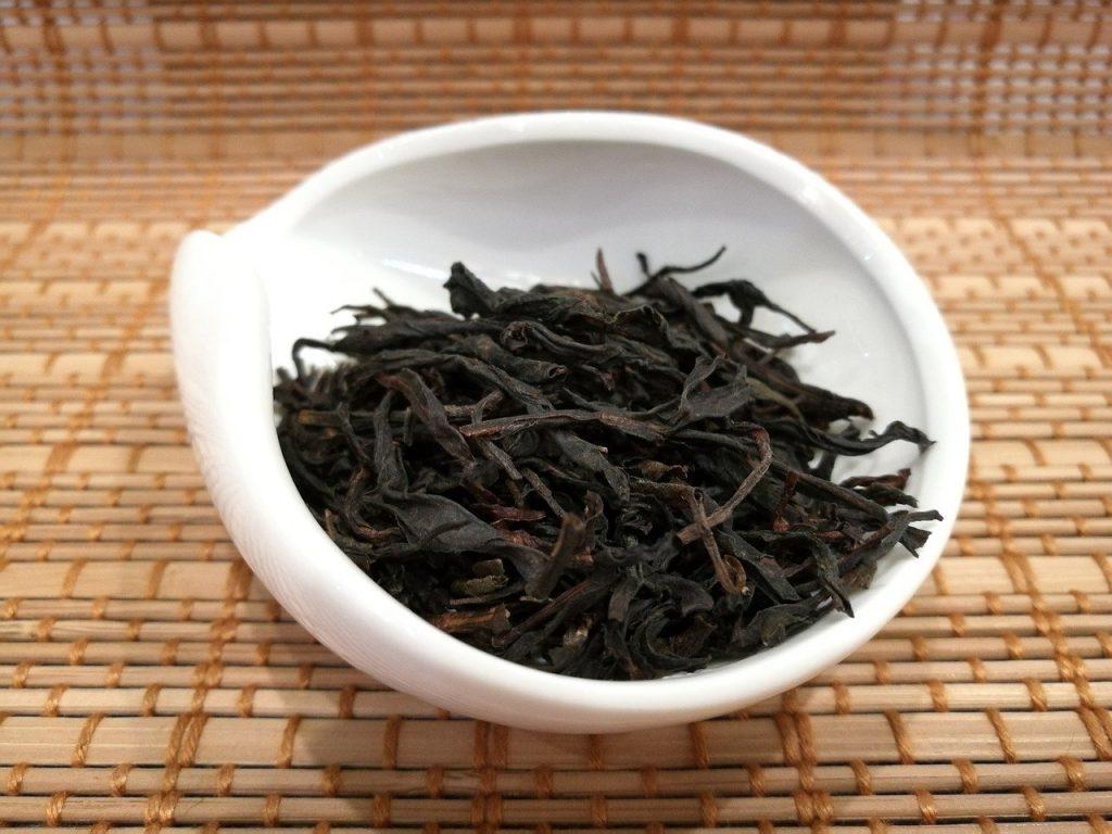 chá azul oolong