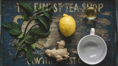 Gengibre limão e mel – o chá ideal para o frio